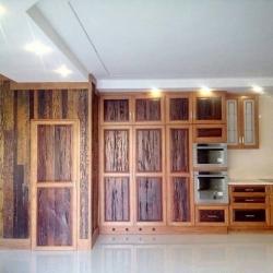 Teak and Ironwood Kitchen